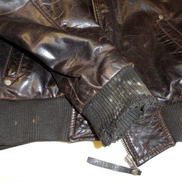 Changer les poignets ou le bas d'un blouson en cuir